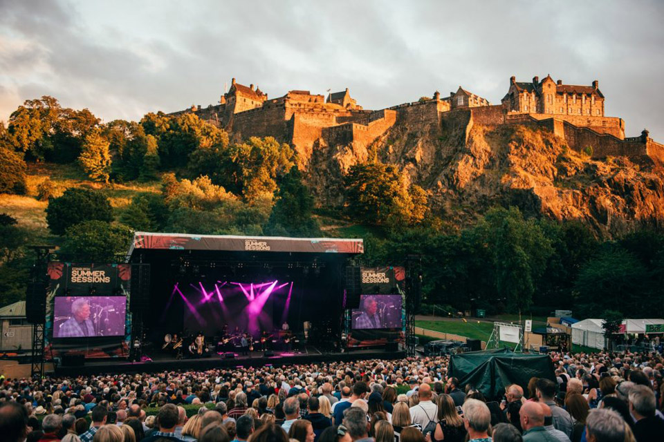 Summer Concerts in Edinburgh 2019